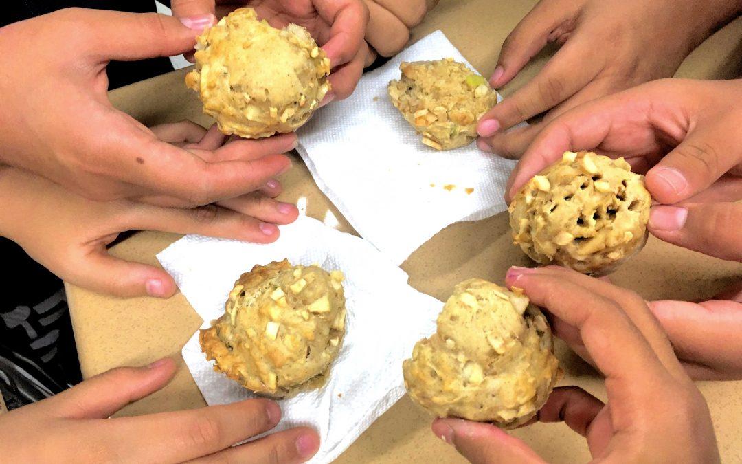 Week 4: Apple Honey Muffins and Apple Blintzes